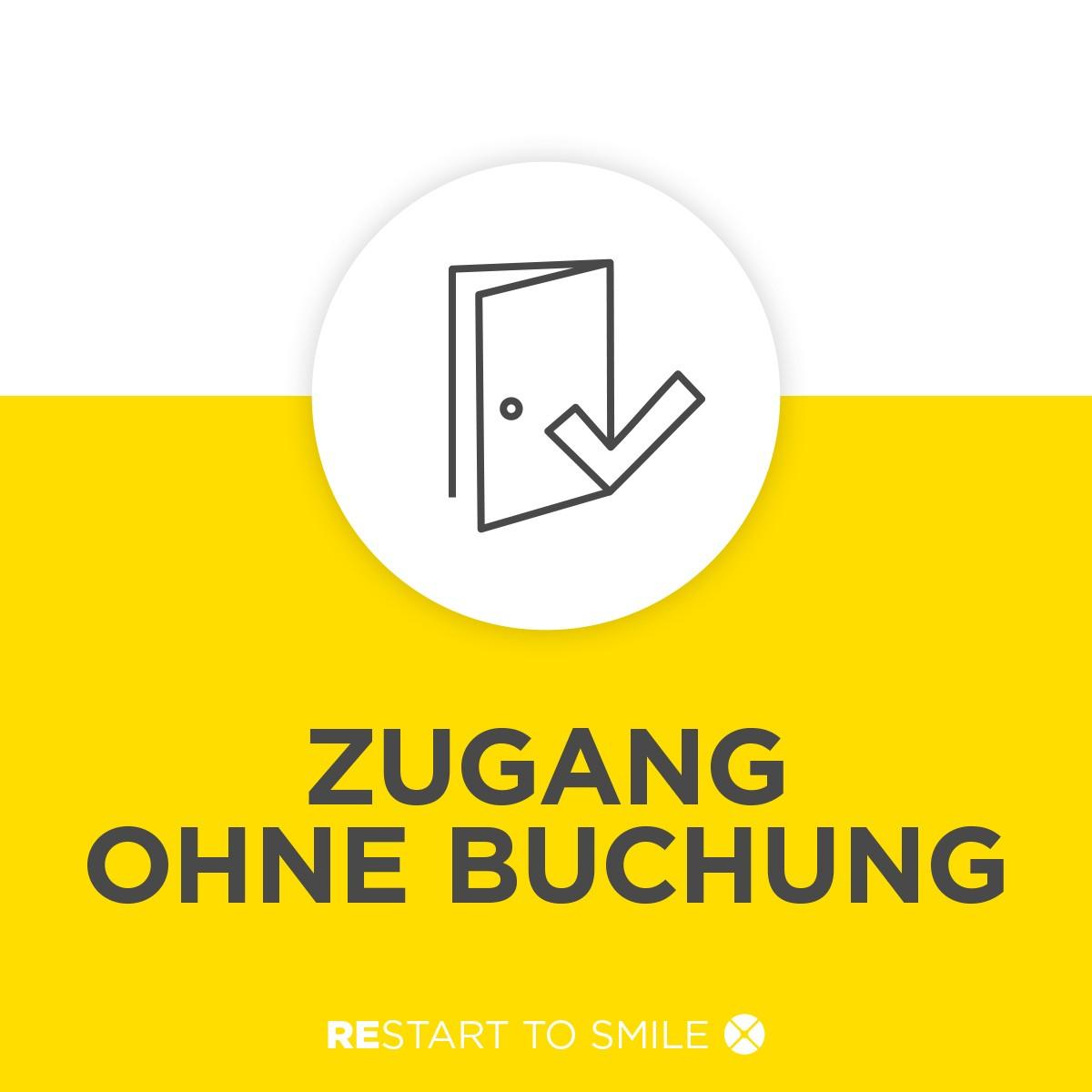 ZUGANG OHNE BUCHUNG.